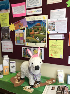 Agnes the Lamb for Heifer International